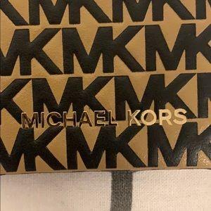 Michael Kors leather I-phone case.